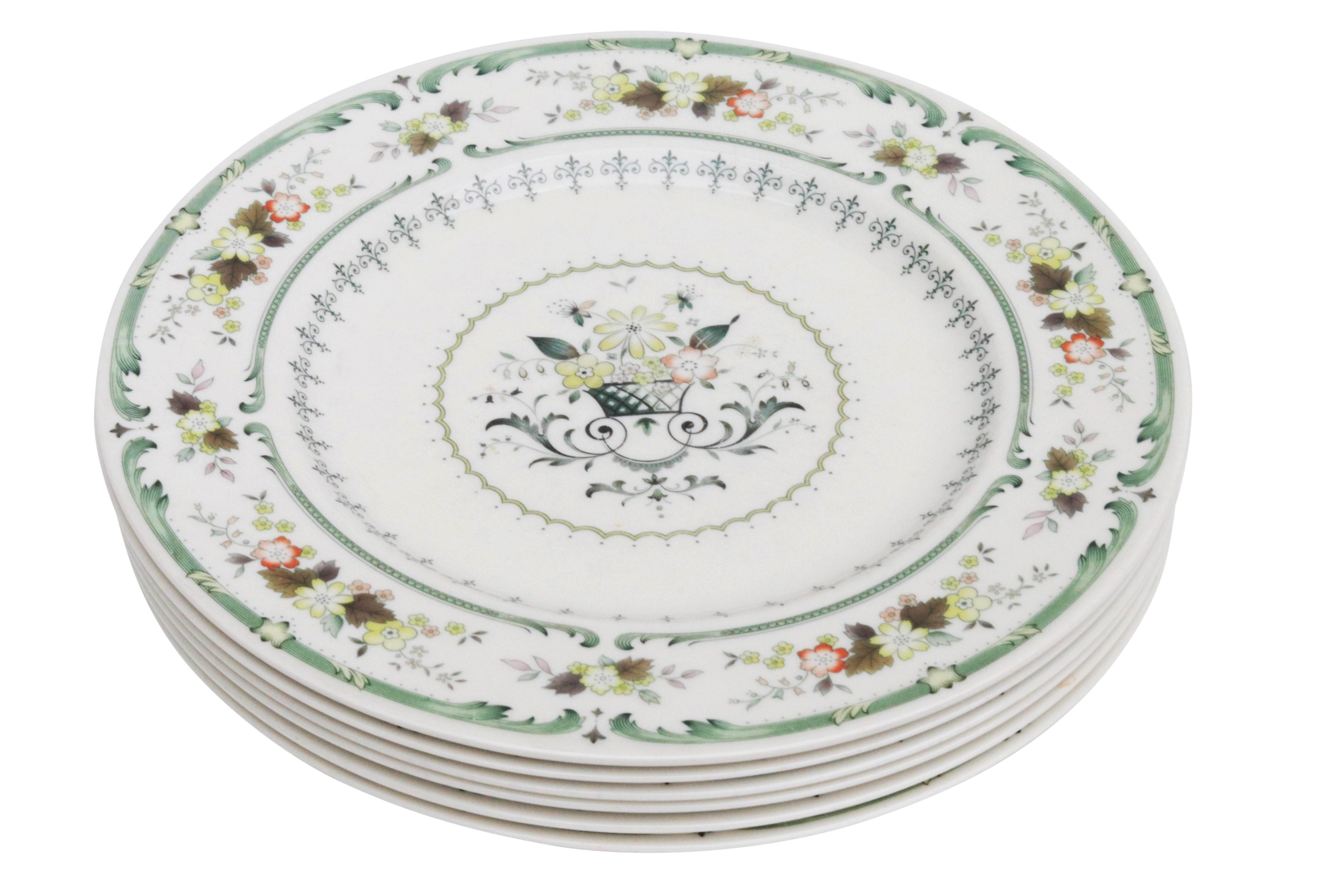 English Fine China Plates by Royal Doulton - Set of 6 - Image 2 of 7  sc 1 st  Chairish & English Fine China Plates by Royal Doulton - Set of 6 | Chairish